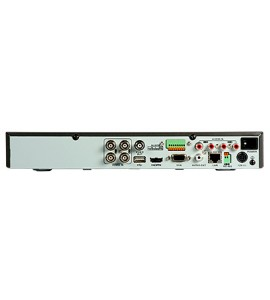 DVR Hibrid HD-TVI 3MP, AHD, Analog, 4 canale video, 4ch audio - HIKVISION DS-7204HUHI-F1/N/A