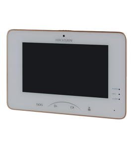 "Post interior videointerfon IP Touch Screen TFT LCD 7"", camera video incorporata - HIKVISION DS-KH8301-WT"