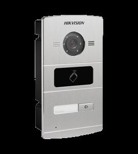 Panou exterior videointerfon TCP/IP pentru 1 familie, control acces integrat - HIKVISION DS-KV8102-IM
