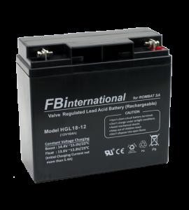 Acumulator 12V, 18Ah -FBi HGL12-18