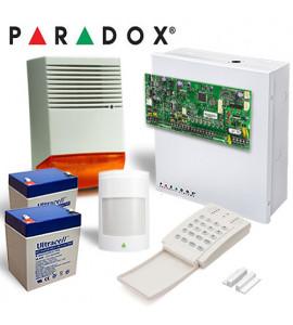 Sistem alarma Paradox Spectra SP5500 INT - 1 detectori 476+Pro + 1 contact magnetic + sirena de exterior HC F6A
