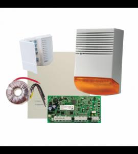 Sistem alarma la efractie DSC PC1616 cu sirena exterioara KIT1616BS