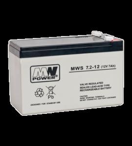 Acumulator 12V/7.2Ah - MWS MWS12-7.2