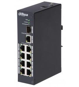 Switch PoE 8 porturi Dahua PFS3110-8P-96
