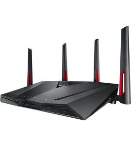 Router wireless ASUS RT-AC88U Black, Dual-Band AC3100 Gigabit