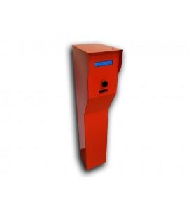 Dispozitiv de citire si retinere a cardului de parcare la iesire SEKA P-IE-R