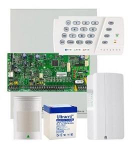 Sistem alarma Paradox Spectra SP5500 Kit S5PG - centrala + 1 detector 476+Pro + comunicator GPRS Paradox PCS250G