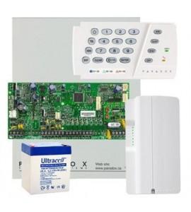 Sistem alarma Paradox Spectra SP5500 Kit S5G - centrala + comunicator GPRS Paradox PCS250G