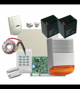 Sistem alarma la efractie DSC cu sirena exterioara KIT1404EXT-BS1