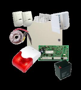 Sistem alarma la efractie DSC PC1616 cu sirena interioara KIT1616INT